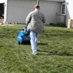 Aerating-the-lawn